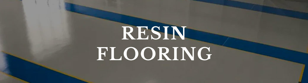 Button to resin flooring page