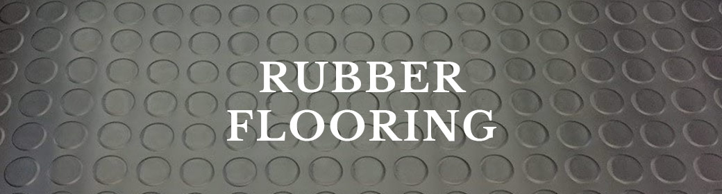 Button to rubber flooring